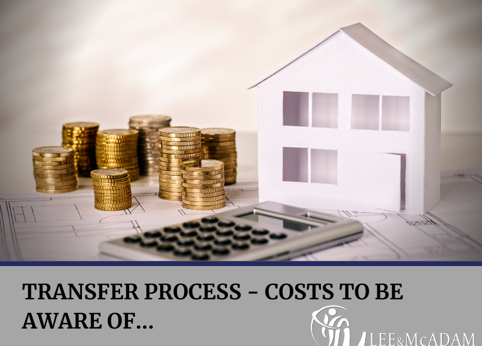 Costs to be aware of during the transfer process