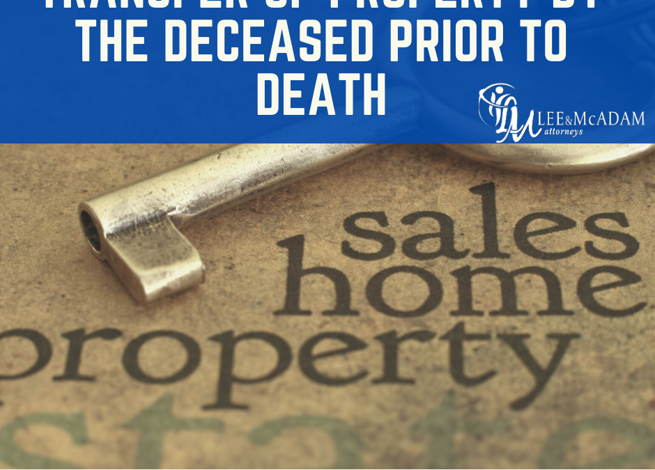 What happens if the seller passes away during transfer?
